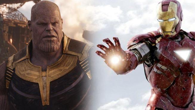 Avengers: Endgame Thanos Tony Stark