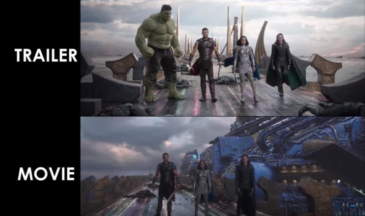 Marvel Trailers