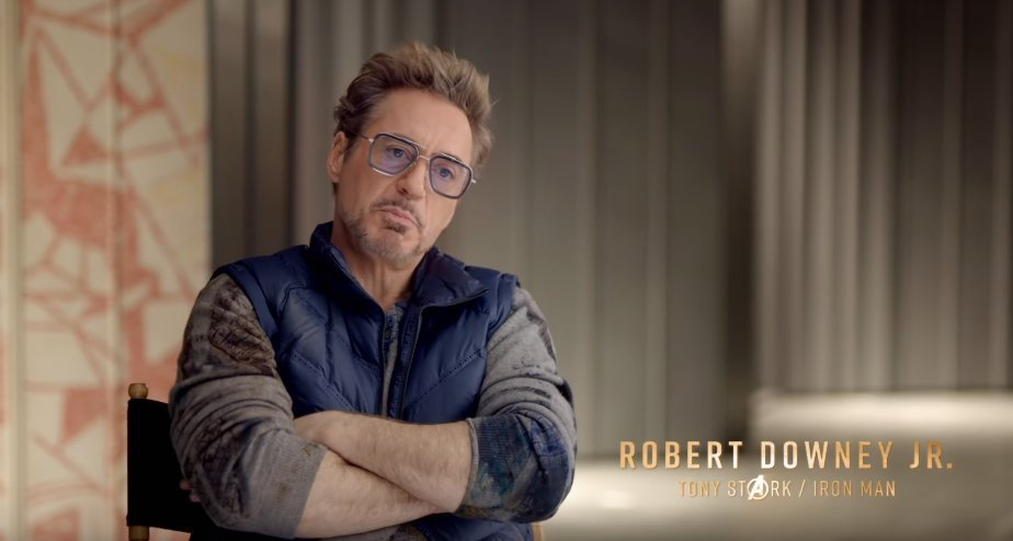 Robert Downey Jr. Birthday Avengers