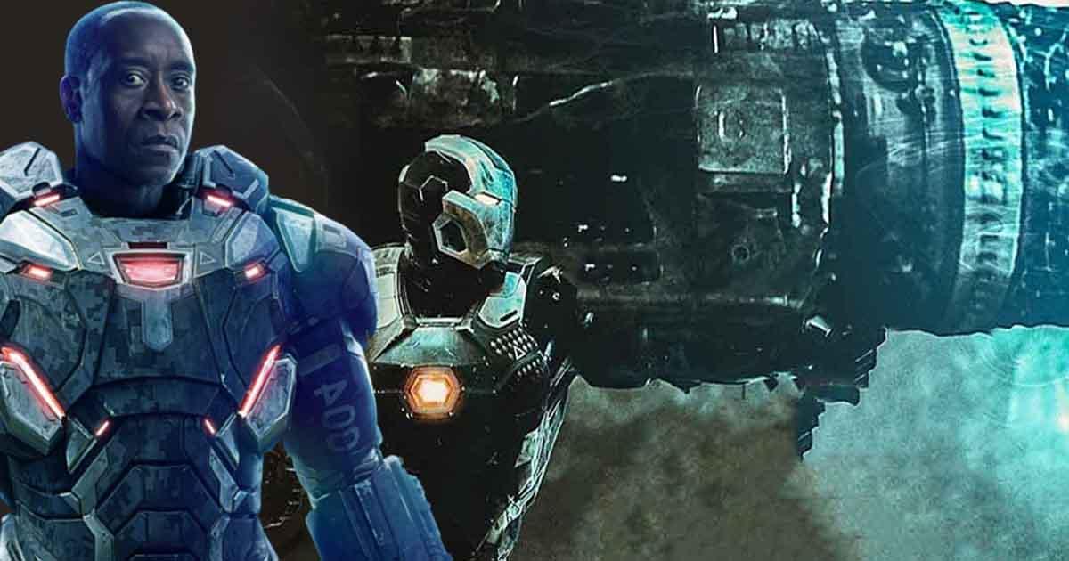 Avengers: Endgame War Machine Proton Cannon
