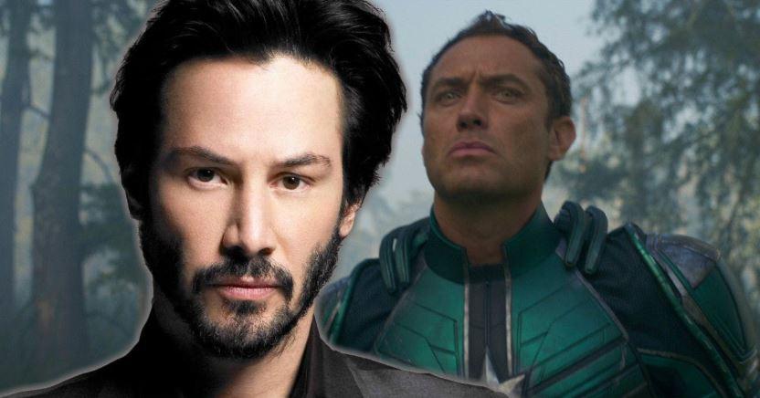 The Eternals Keanu Reeves John Wick