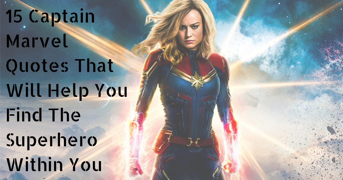 Photo of 15 Captain Marvel Quotes (2019) That Are Epic and Mind-Blowing