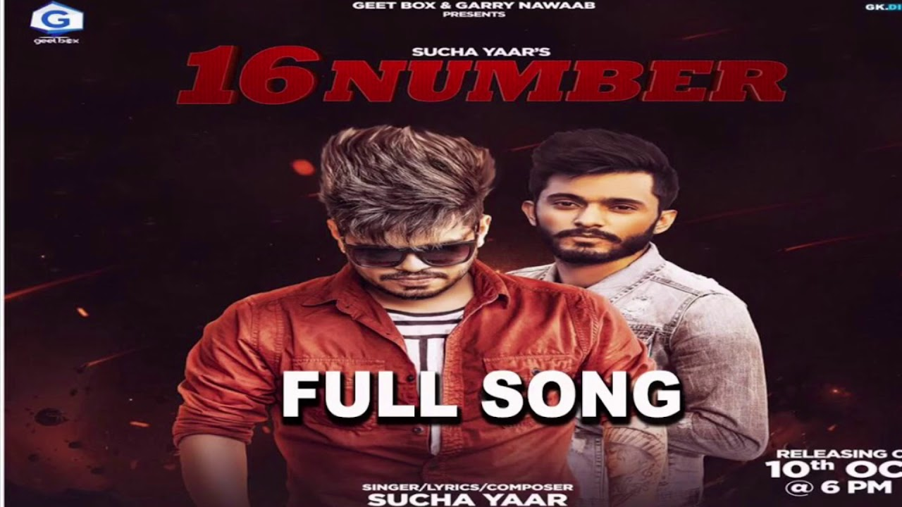 16 Number Sucha Yaar Song Download