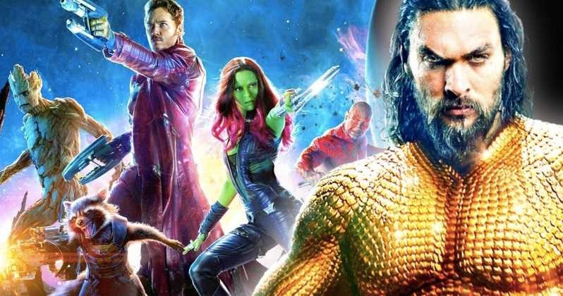Aquaman Crosses Guardians of the Galaxy