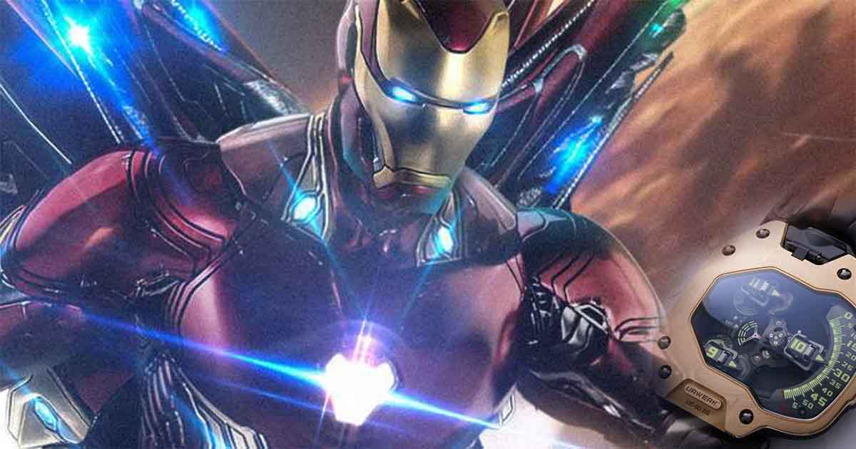 Photo of Tony Starks' New Iron Man Armour & Time Travel Watch Revealed Through Action Figures