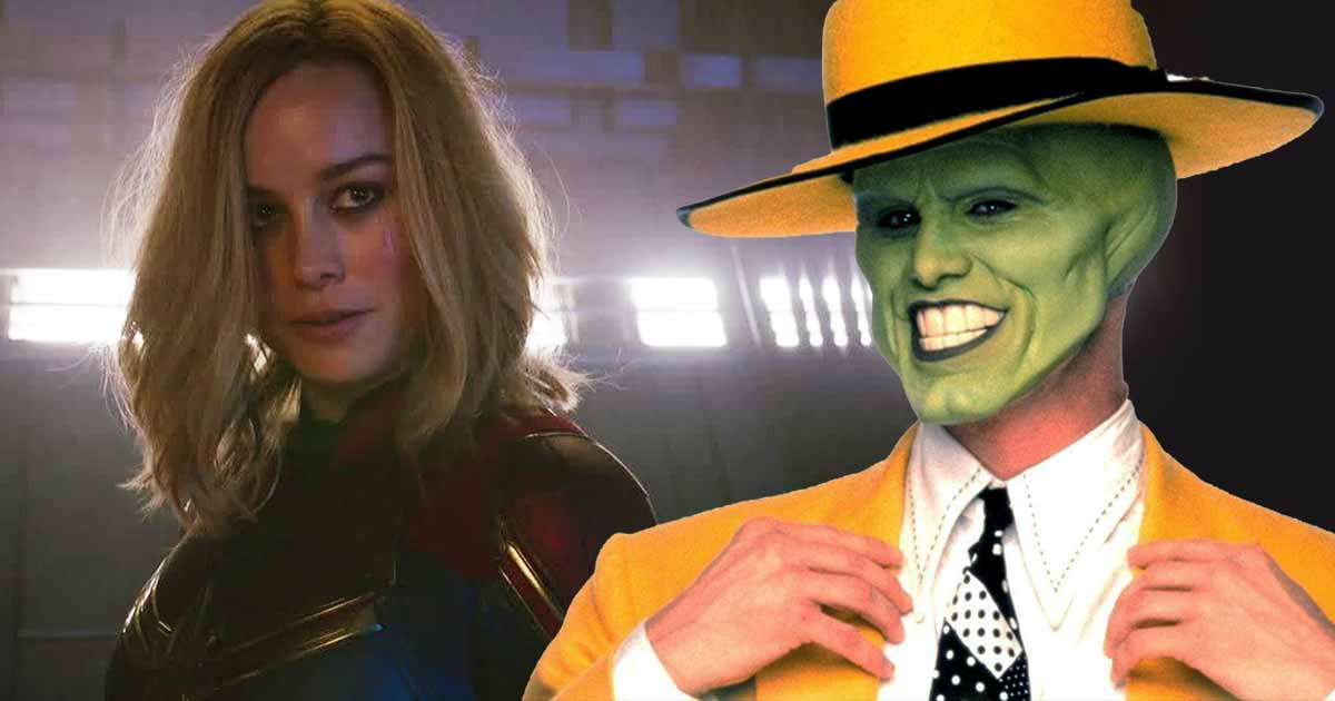 Photo of Captain Marvel Almost Referenced Jim Carrey's 'The Mask'