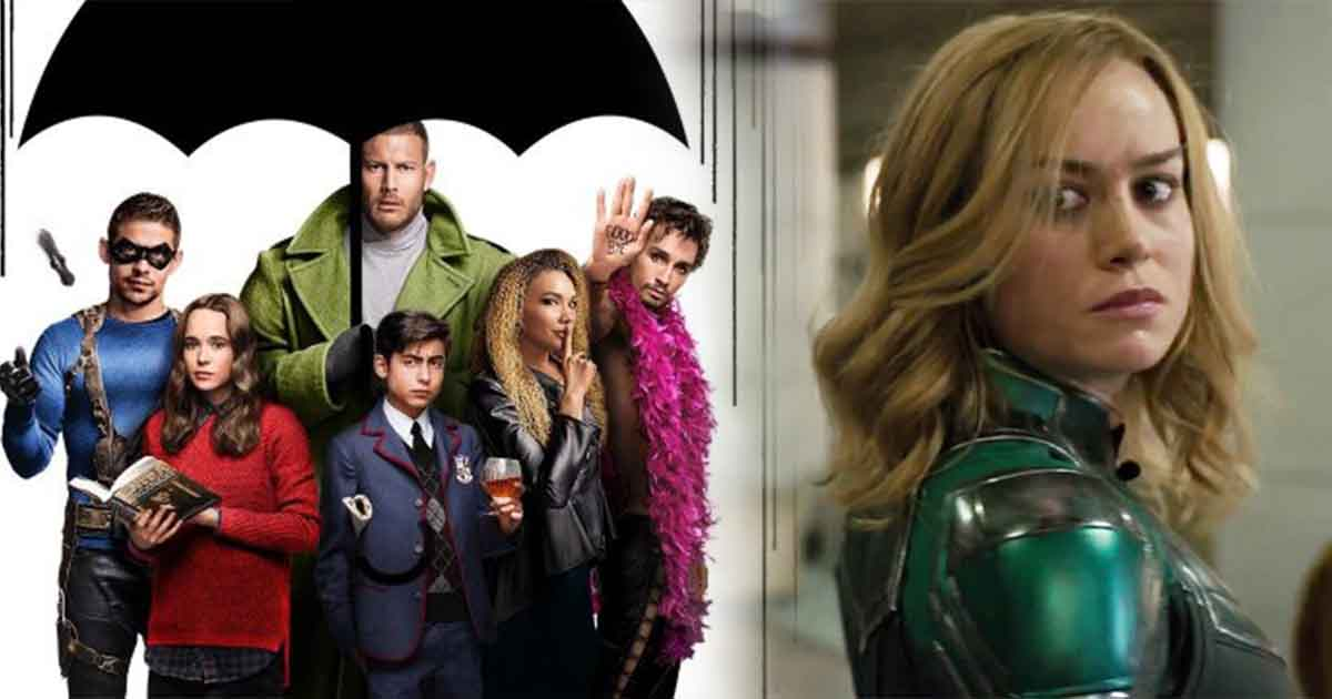 Photo of Marvel Fan Points Out That Captain Marvel Is From The Umbrella Academy