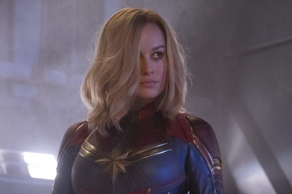 Captain Marvel Concept Art Carol Danvers