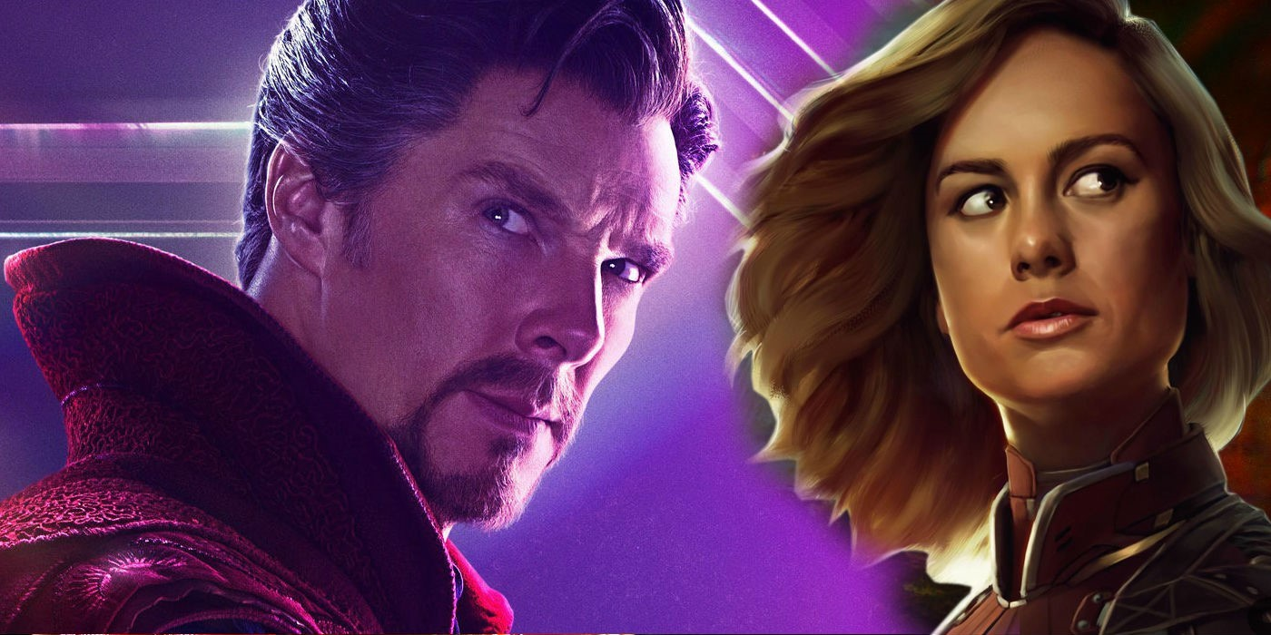 Photo of Did You Catch The Doctor Strange Moment in Captain Marvel?