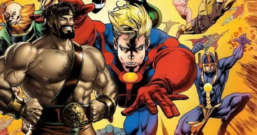 The Eternals Hercules Marvel