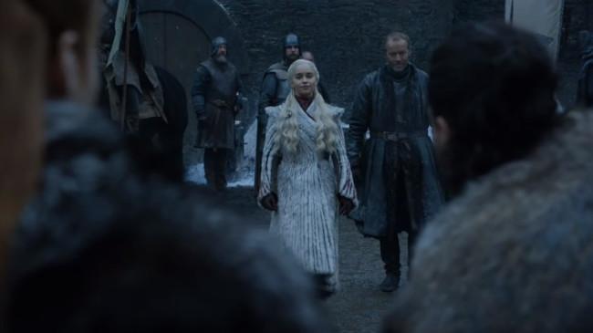 Game of Thrones Daenerys Targaryen Winterfell