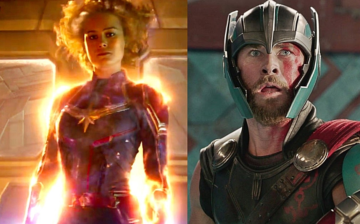 Photo of Here's the Fun Similarity Between Captain Marvel & Thor: Ragnarok