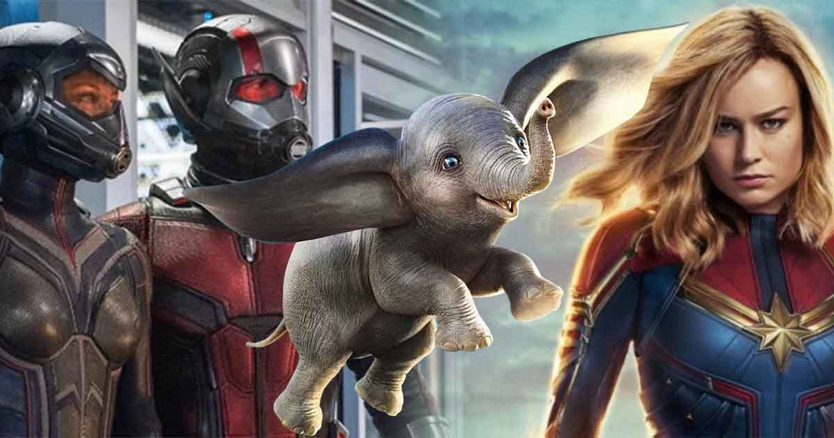 Dumbo Ant-Man and the Wasp Captain Marvel Disney