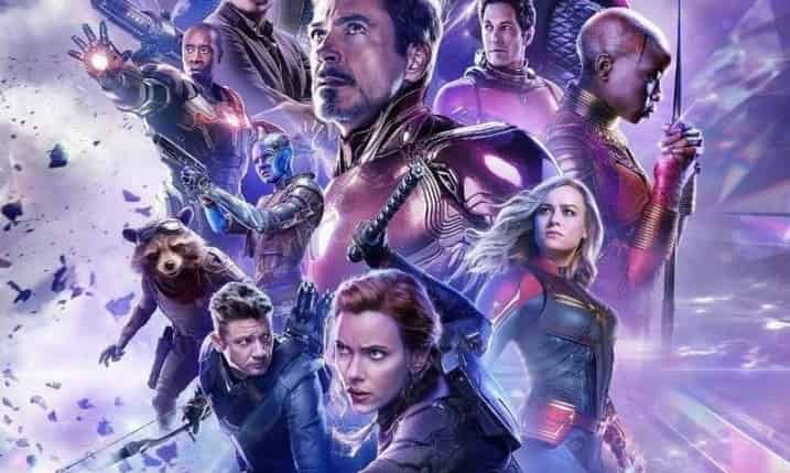 Photo of Black Widow Becomes The Leader in The New Avengers: Endgame Russian Poster