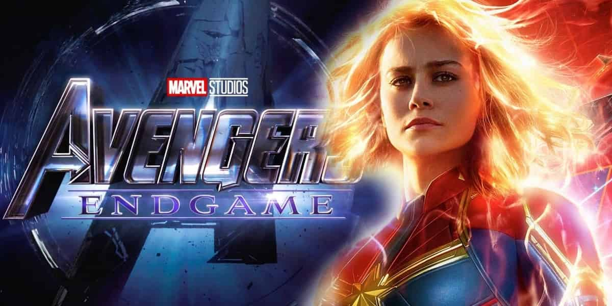 Captain Marvel Avengers: Endgame Writers Brie Larson