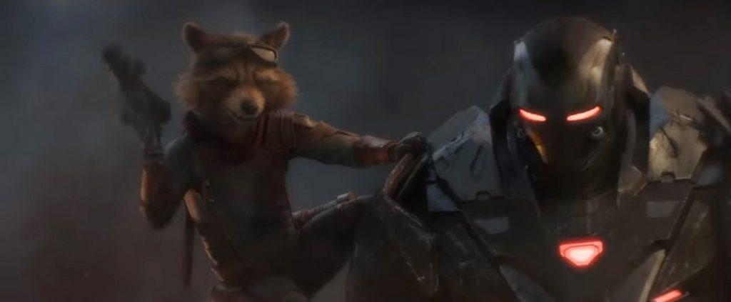 Avengers: Endgame War Machine Suits