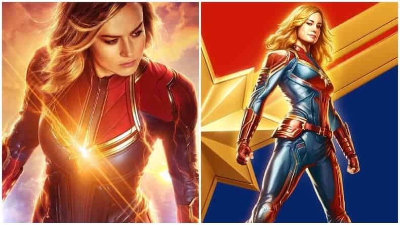 Captain Marvel Iron Man 2