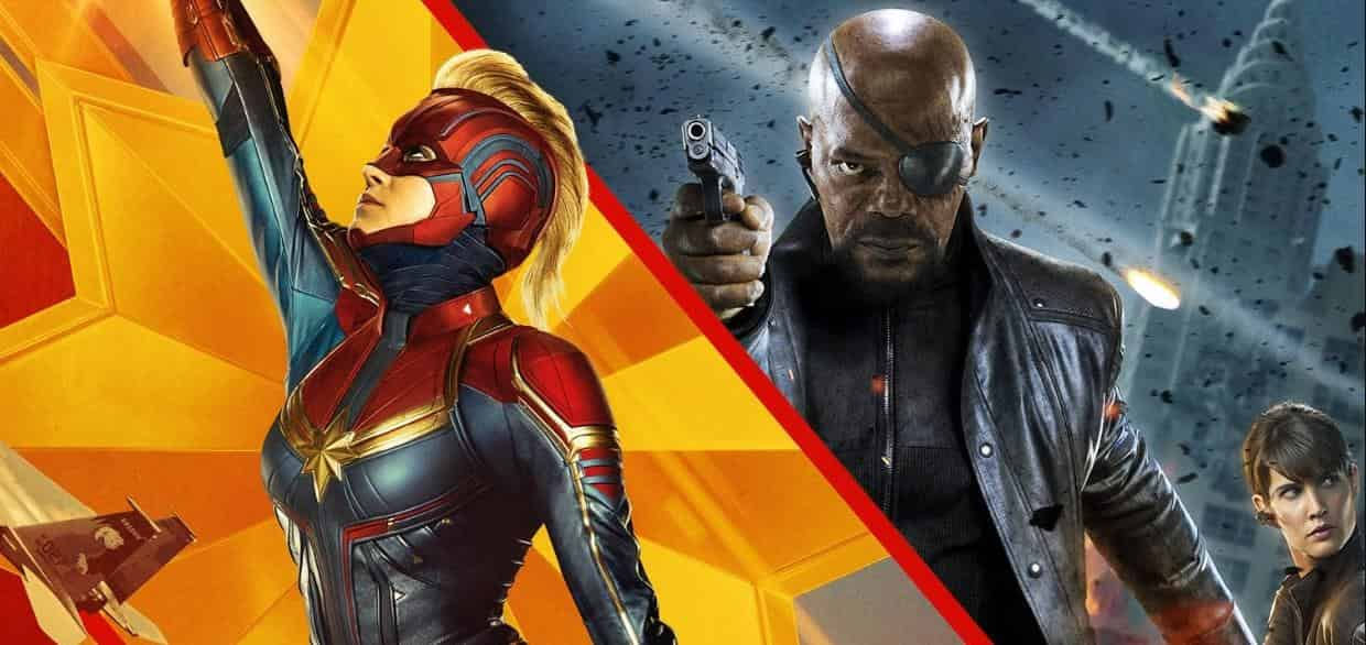 Captain Marvel Theory Nick Fury Goose
