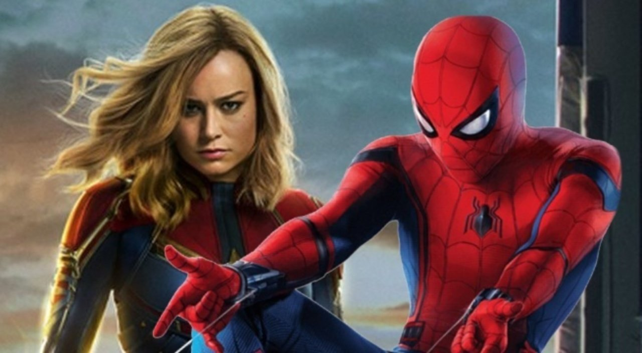 Spider-Man: Far From Home Captain Marvel