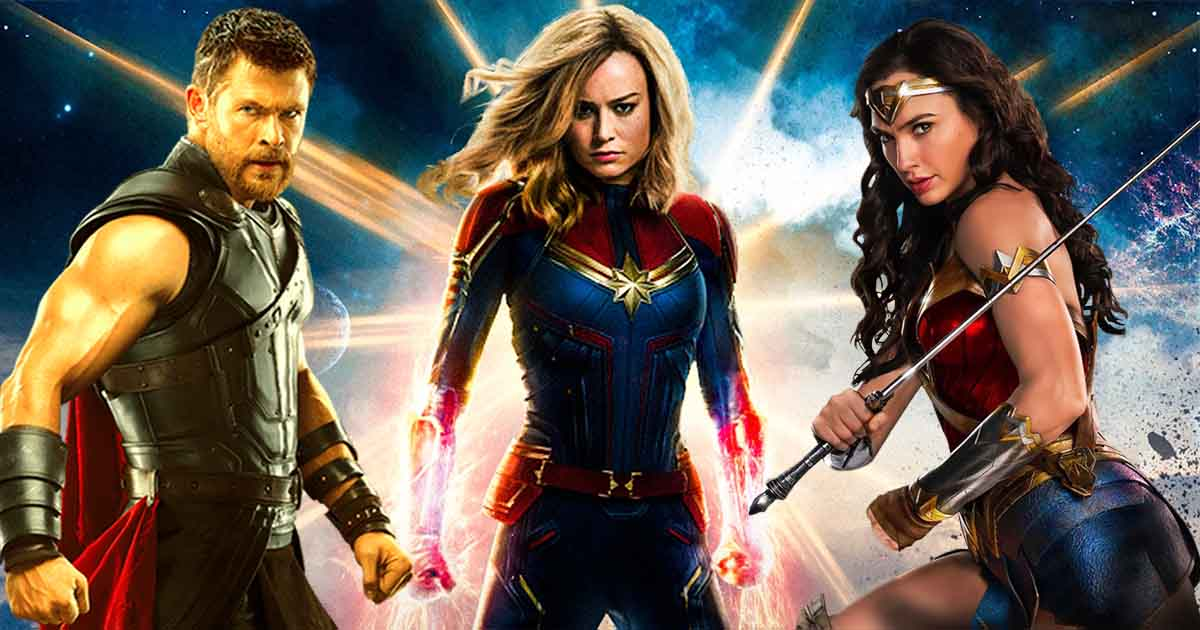 Captain Marvel IMAX Wonder Woman Thor 3
