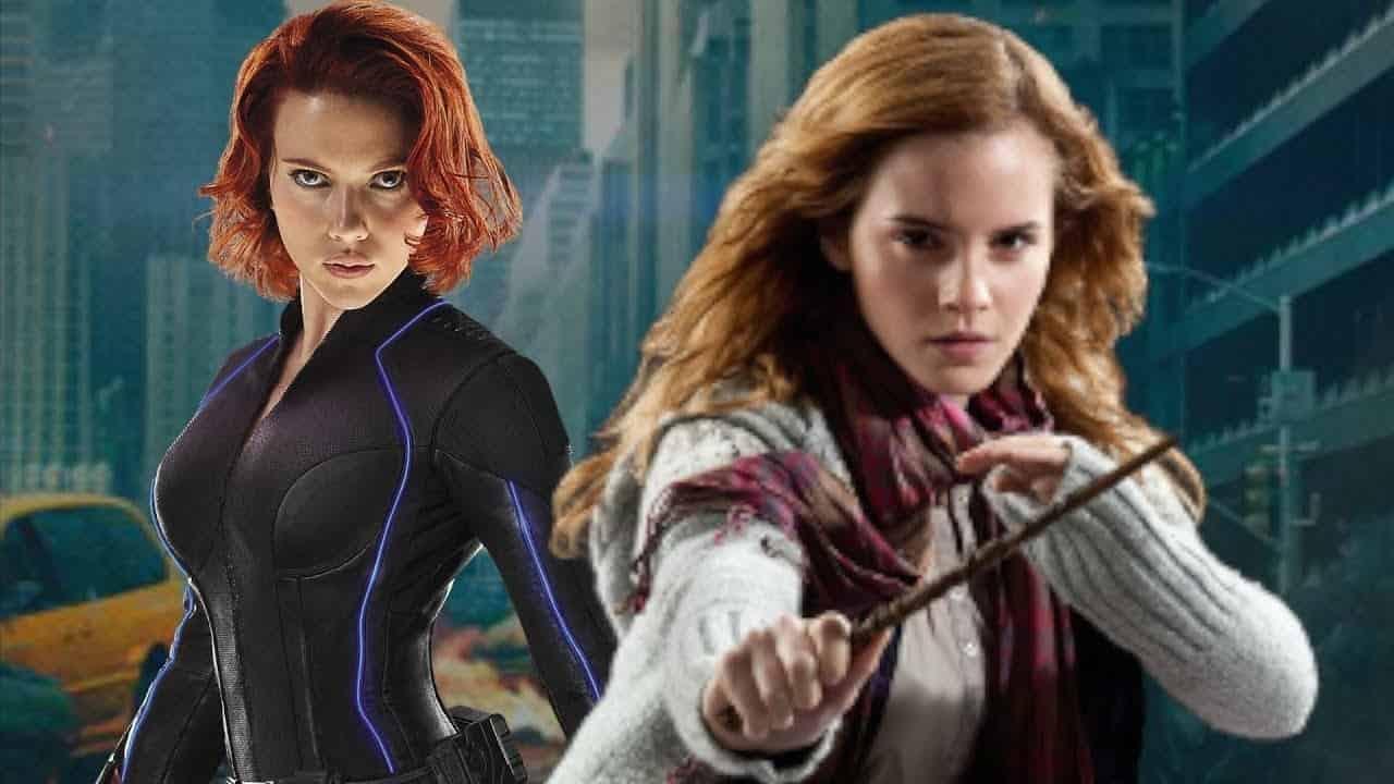 Black Widow MCU Emma Watson Harry Potter
