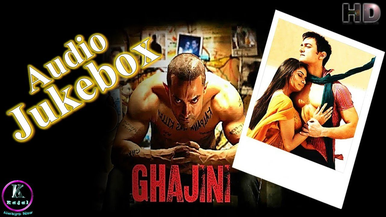 Ghajini Songs Download 320Kbps