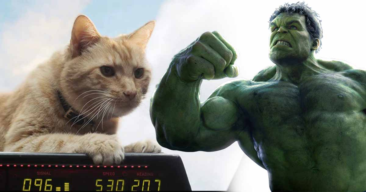 Photo of Captain Marvel Has a Hilarious Avengers Hulk Easter Egg