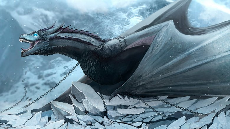 Game of Thrones Ice Dragons