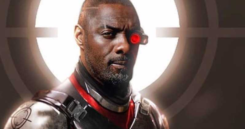 The Suicide Squad Idris Elba Deathstroke