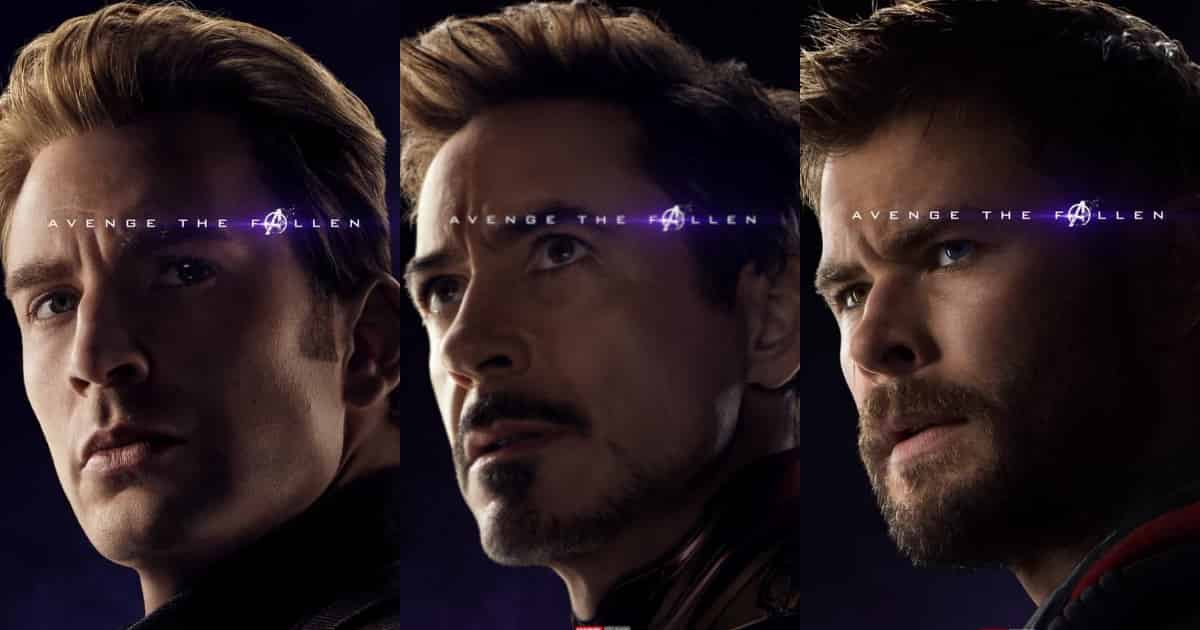 Photo of New Avengers: Endgame Character Posters Released