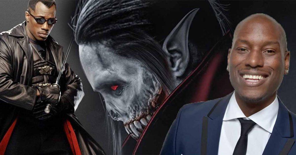 Morbius Blade Tyrese Gibson Sony