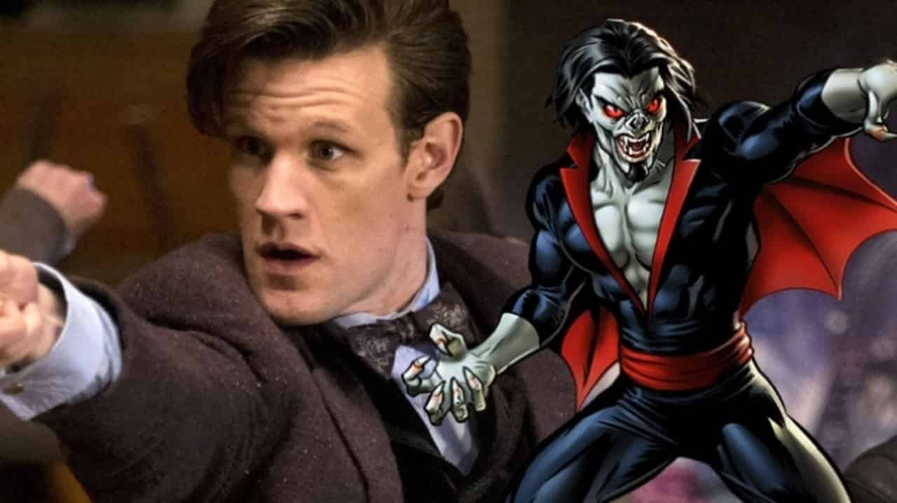 Morbius Matt Smith Spider-Man Spinoff