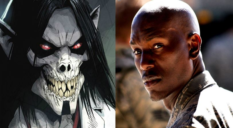 Morbius Blade Tyrese Gibson Sony
