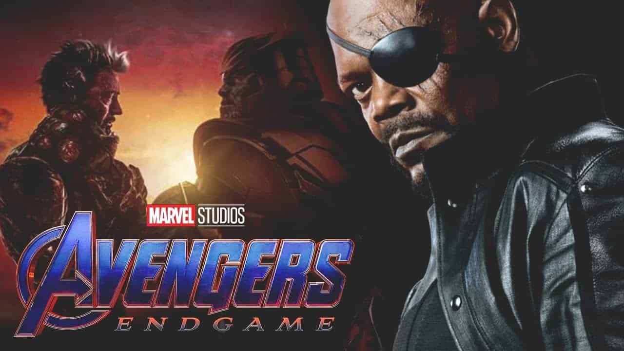 Avengers: Endgame Nick Fury Samuel L. Jackson