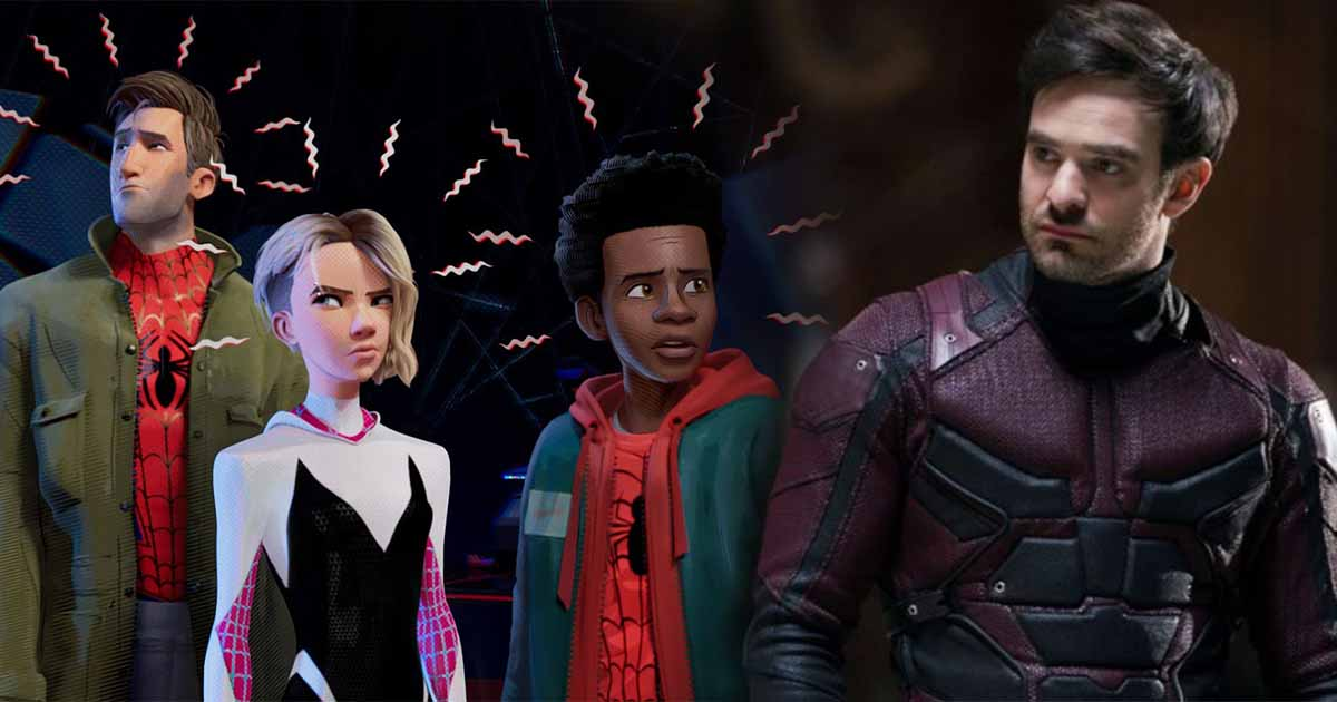 Photo of 'Spider-Man: Into The Spider-Verse' Features a Daredevil Easter Egg