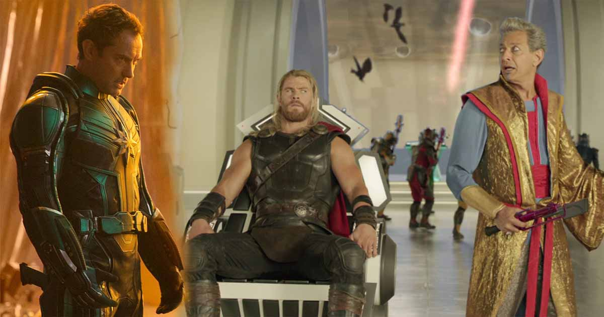 Captain Marvel Post Credits Scene Thor: Ragnarok