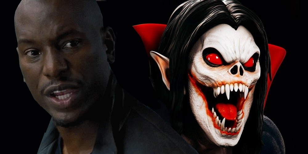 Morbius The Living Vampire Tyrese Gibson