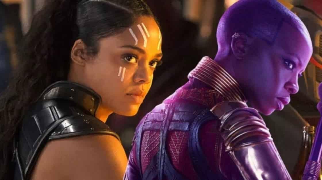 Avengers: Endgame Okoye Valkyrie Tessa Thompson