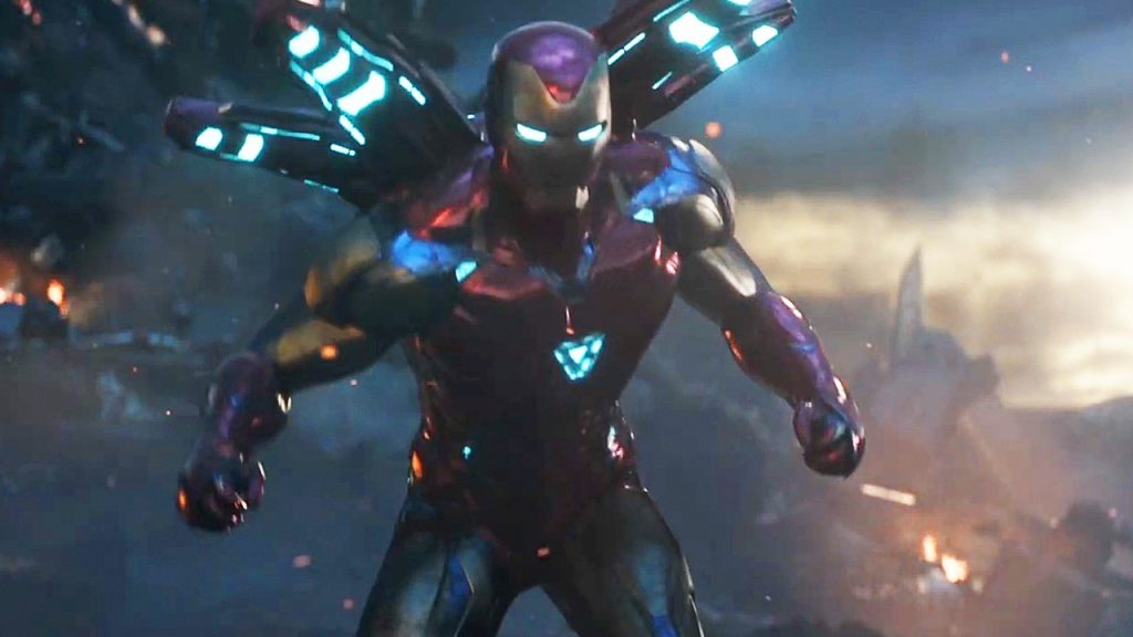 Avengers: Endgame TV Spot Iron Man Weapon