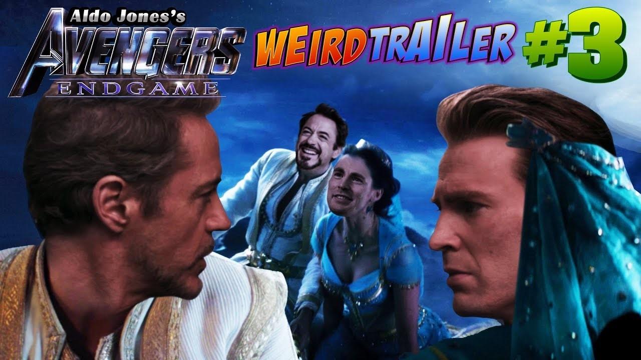 Avengers Endgame Weird Trailer