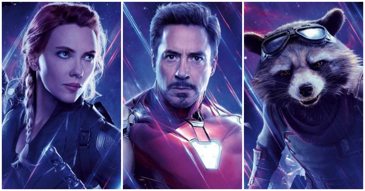 Photo of Avengers: Endgame International Character Posters Revealed
