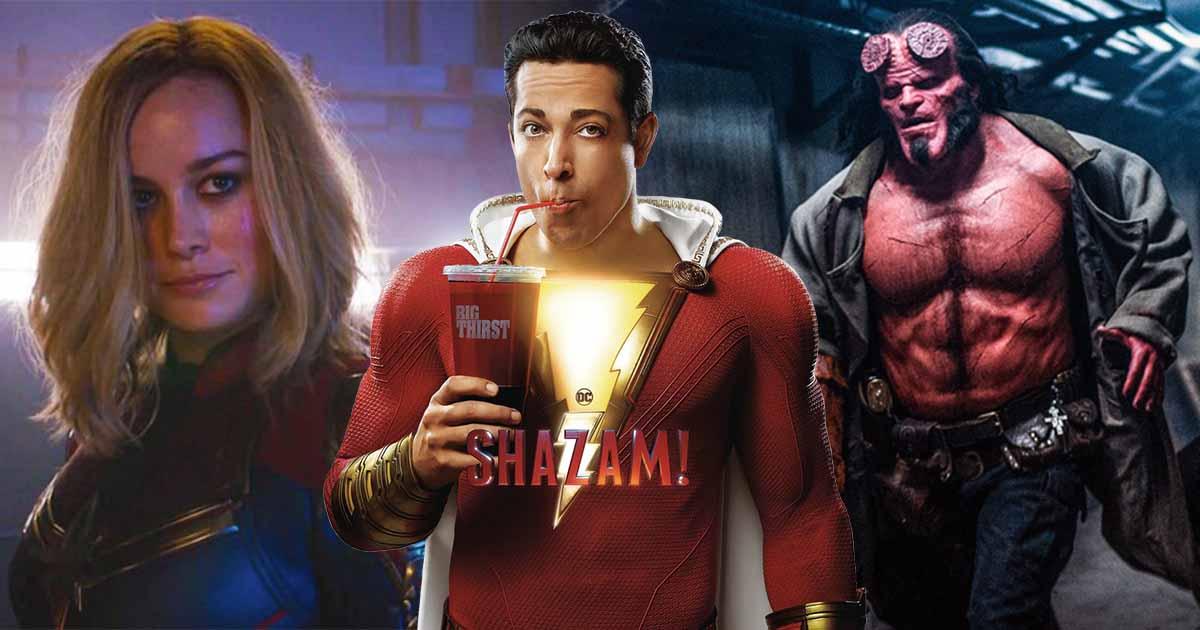 Shazam! Captain Marvel Hellboy