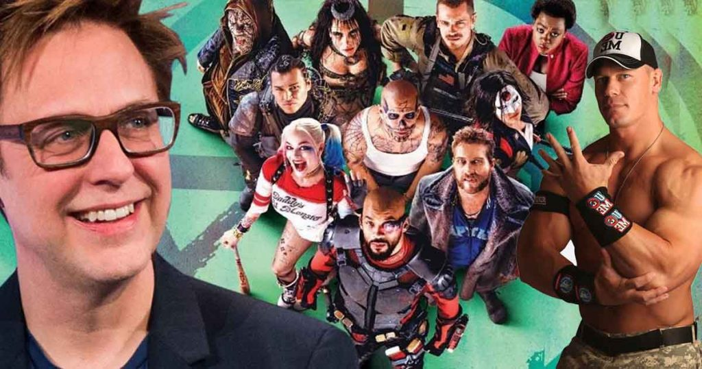 The Suicide Squad James Gunn John Cena
