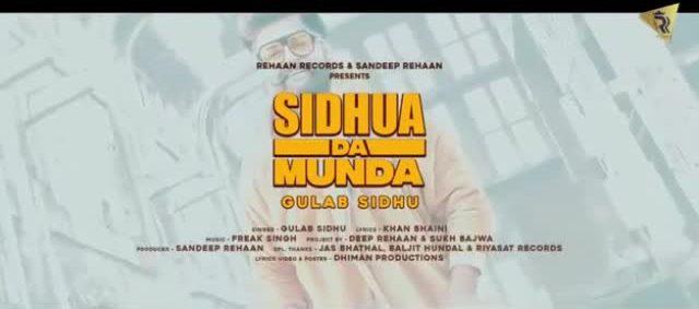 Sidhua Da Munda Song Download Mr Jatt