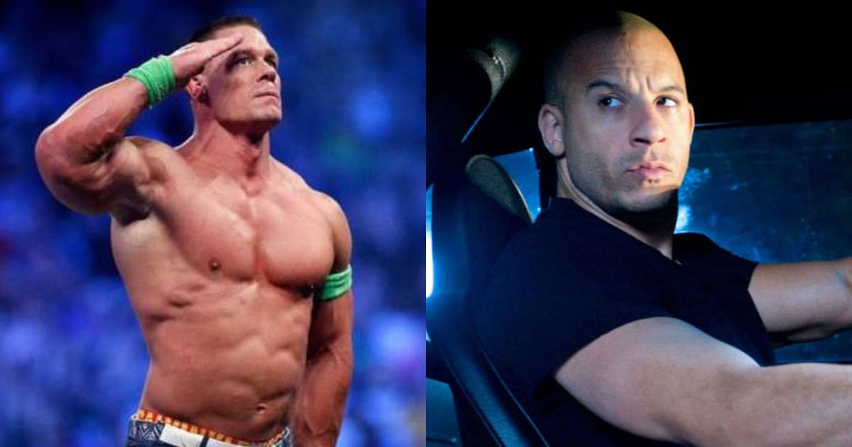 Photo of Vin Diesel Hints At WWE Star John Cena Joining Fast And Furious 9!!