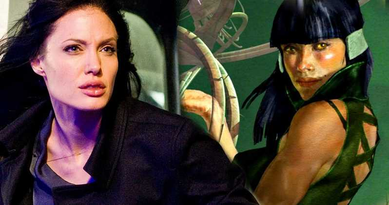 The Eternals Angelina Jolie