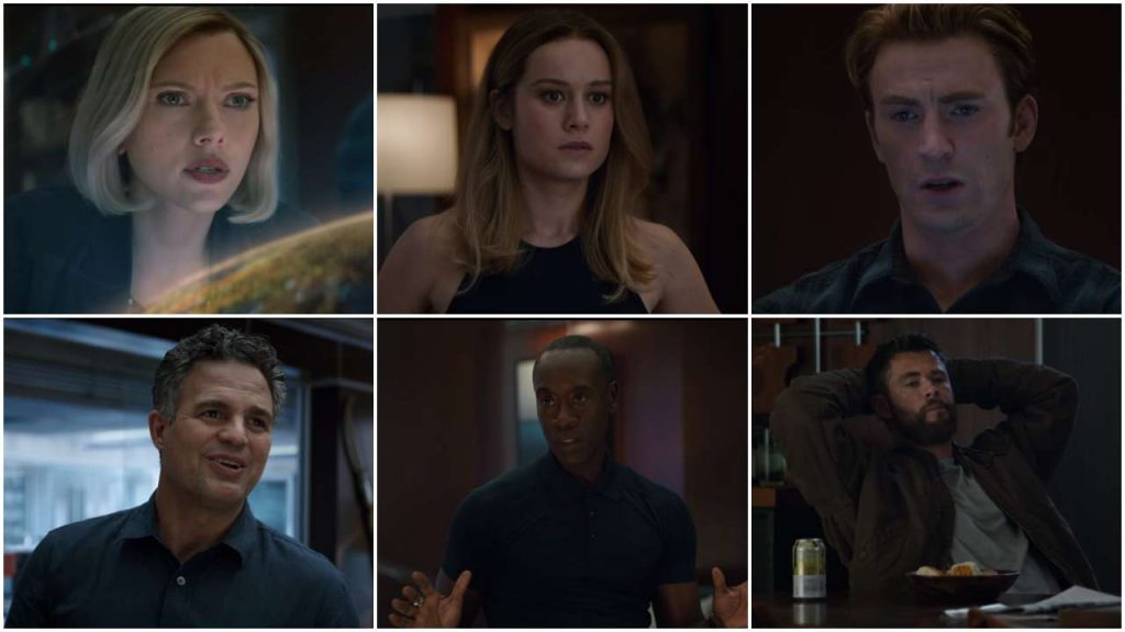 Avengers: Endgame Clip