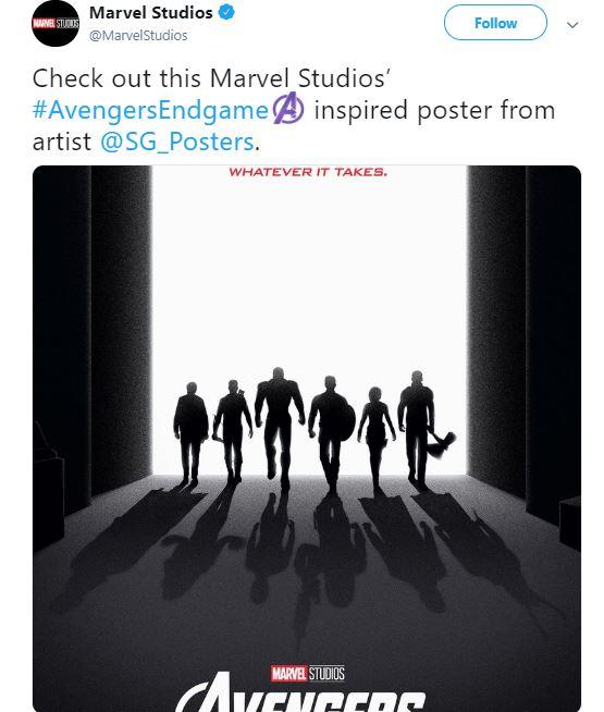 Avengers: Endgame Poster Original 6