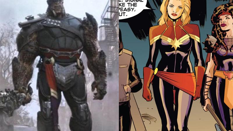 Captain Marvel Suit Marvel Studios