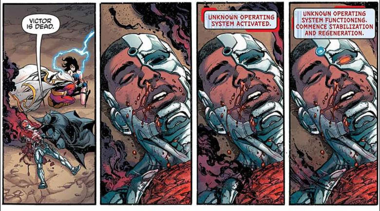 Cyborg DC Comics